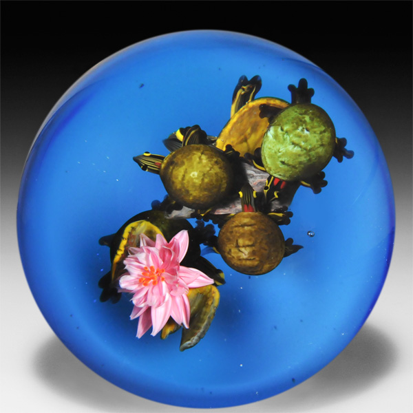 Decorative Glass Paperweight