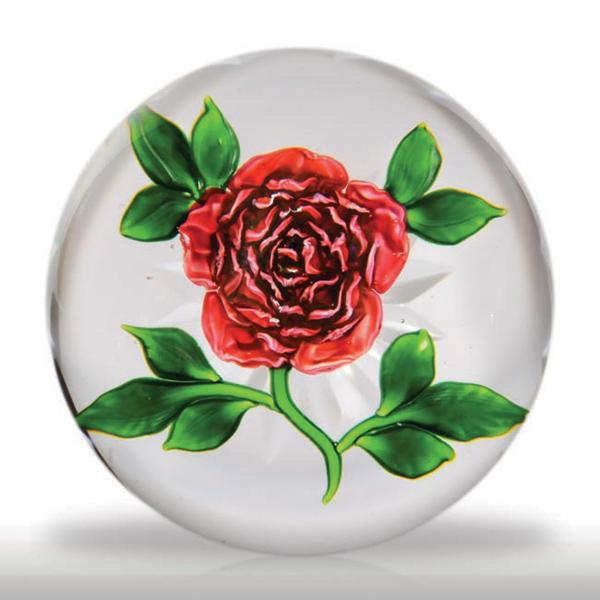 Antique Baccarat Cabbage Rose