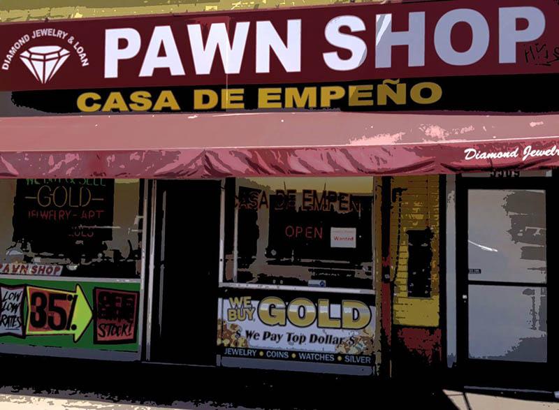 hollywood pawn shop
